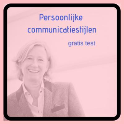 Persoonlijke communicatiestijl